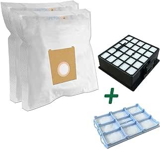Super Set – Filtro HEPA + filtro Motor + 10 bolsas para aspiradora Bosch: BSGL 42280/01 GL-40 Bagless, BSGL 42283/01 GL-40 Bagless: Amazon.es: Hogar