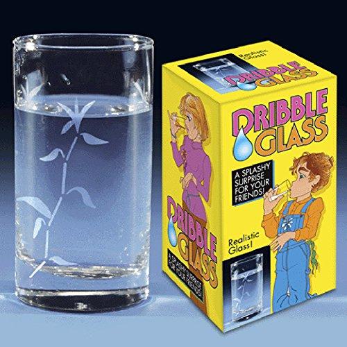Joke Dribble Dripping Novelty - Glasses Tilted
