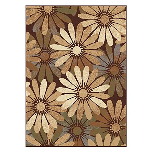 Universal Rugs Contemporary Floral 7 ft. 6 in. x 9 ft. 10 in. Area Rug , Multi