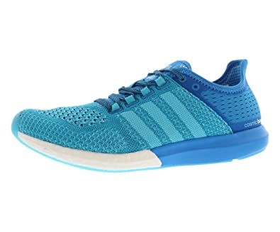 adidas Men's CC Cosmic Boost Running Shoes Solar Blue/Solar Blue/Core Black  (