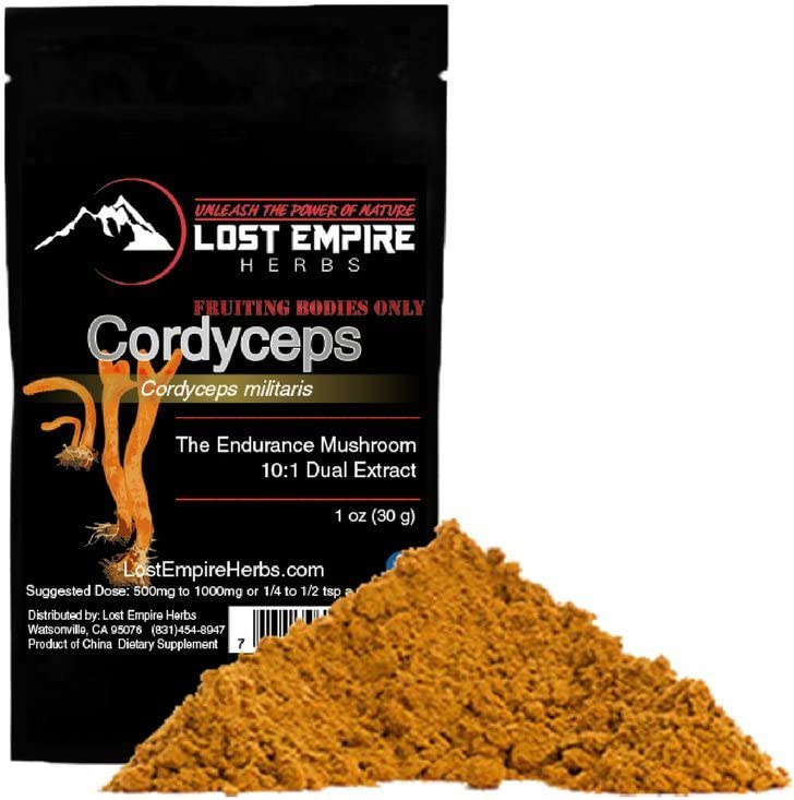 Organic Cordyceps Extract Powder – Energy and Stamina – Immune Support – Non-GMO, Gluten Free, Paleo and Vegan Friendly – 30 g