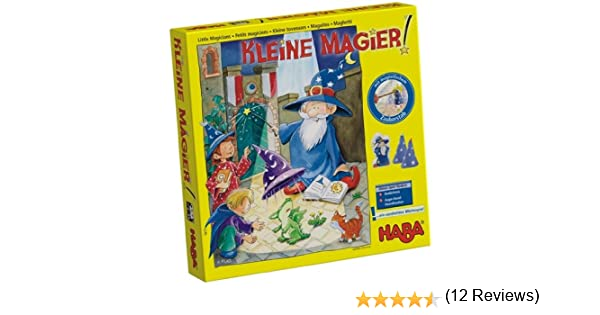 Haba - Maguitos - Juego de mesa sobre magia: Amazon.es: Juguetes y juegos