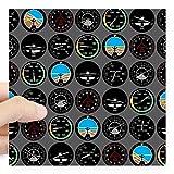 "Best CafePress Flight Bottles - CafePress - Flight Instruments Square Sticker 3"" X Review"