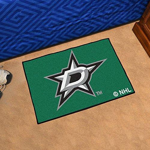 FANMATS NHL Dallas Stars Nylon Face Starter Rug