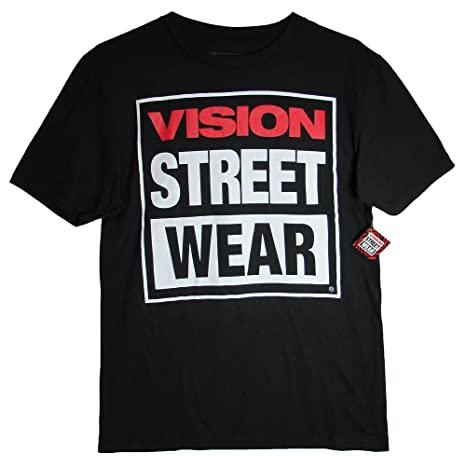 5283b81253 Vision Street Wear - Logo T-Shirt - Large: Amazon.ca: Sports & Outdoors
