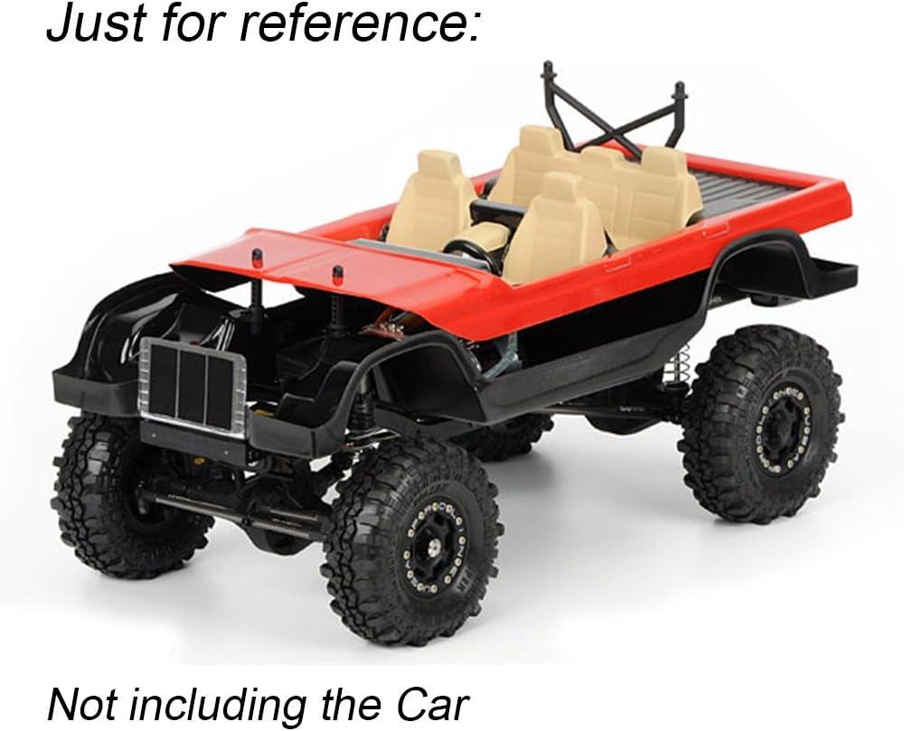 INJORA RC Interior RC Accesorios 2pcs Interior Decoración para 1/10 RC Crawler Traxxas TRX4 Bronco Axial SCX10 II 90046 90047 Cherokee Carrocería