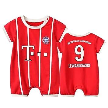 low priced 5edbc fecec Sybaby Lewandowski #9 Bayern Munich Soccer Jersey Baby ...