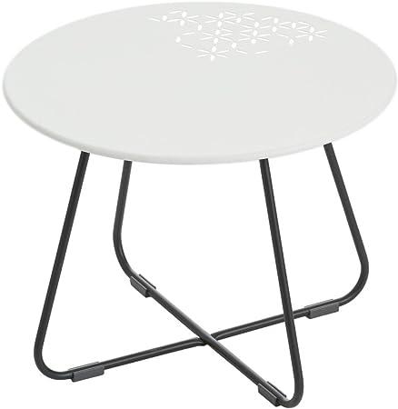 GROSFILLEX Table basse Yéyé Blanc: Amazon.fr: Jardin