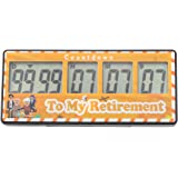 AIMILAR AIMILAR 9999 Days Digital Countdown Timer - Magnetic Count Up Down Timer for Retirement