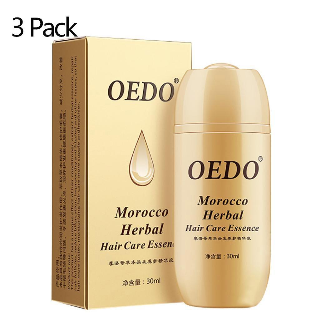 Alonea Ginseng Hair Essence Oil for Dry/Coarse Hair, Hair Care Plant-Based Fast Hair Growth Repair Root Hair 3 Pack