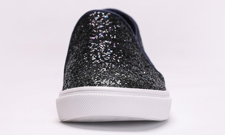 Feversole Womens Fashion Slip-On Sneaker