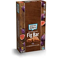 12-Count Natures Bakery Whole Wheat Fig Bar Vegan (Original Fig)