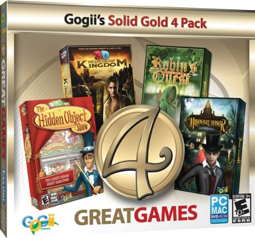 ENCORE 4 Great Games Gold Jewel Case