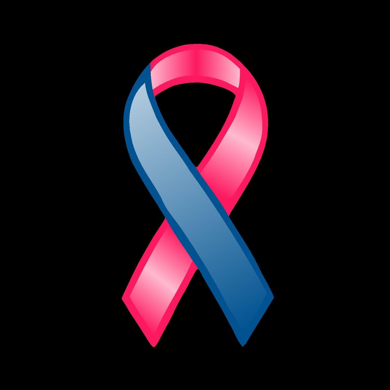 "Breast Cancer awareness  Ribbon Window Decal Sticker 4/"" x 2 1//2/"""