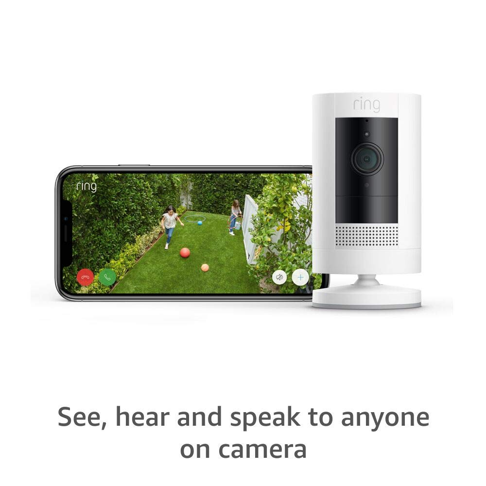 Ring Stick Up Cam Battery HD camera