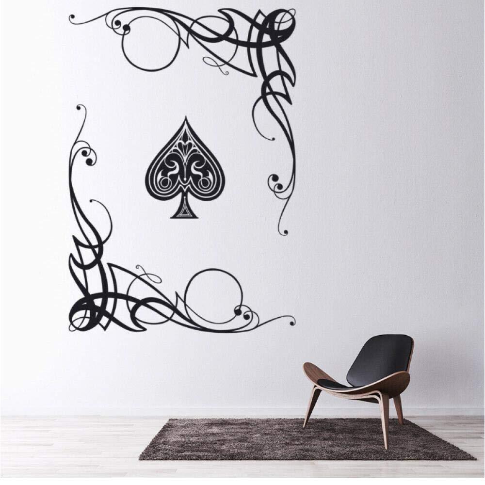 Xxscz Juegos De Cartas Tatuajes De Pared Ace Poker Picas Vórtice ...