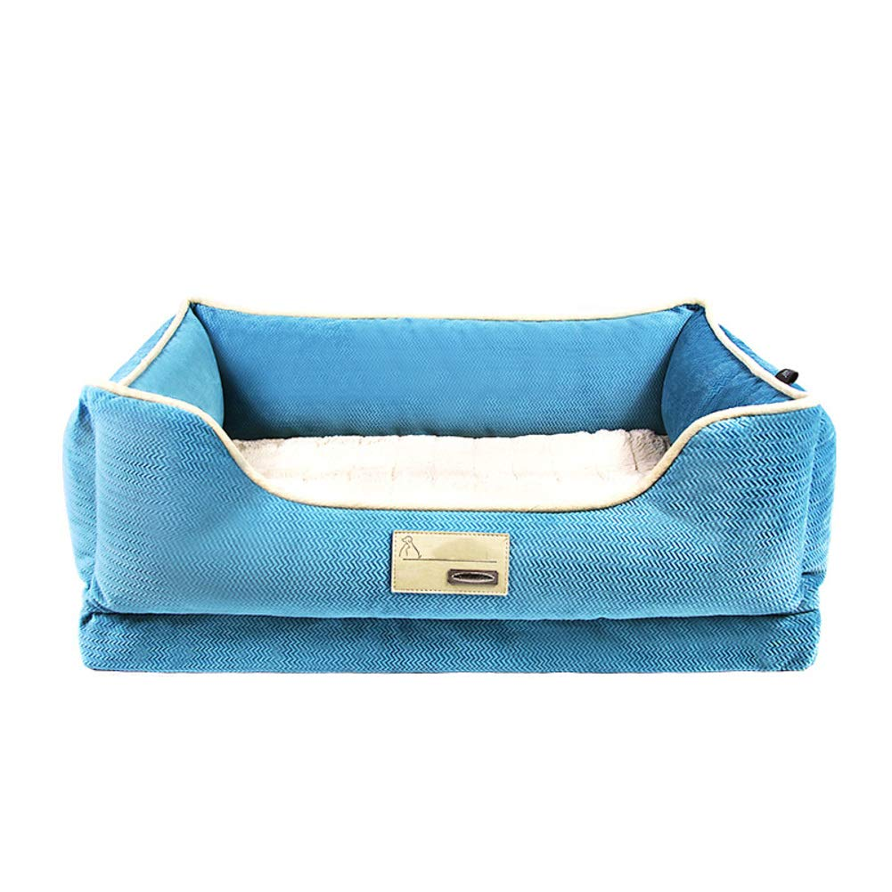Washable Dog bed, Thick Warm Durable Pet nest, Small Medium Large Dogs Cat, Kennel-B S