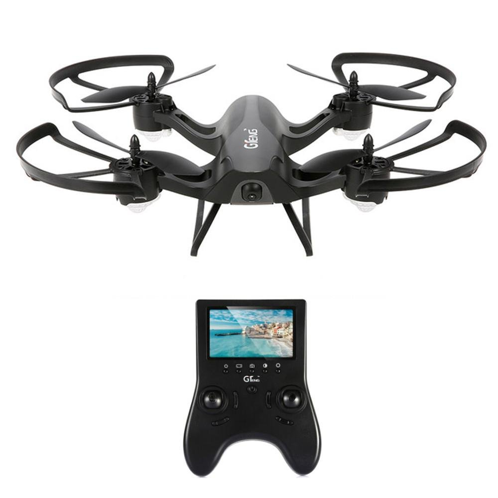Leewa@ GTENG T905F 5.8G 720P Camera Altitude Hold One Key Return RC Racing Quadcopter-Black by Leewa