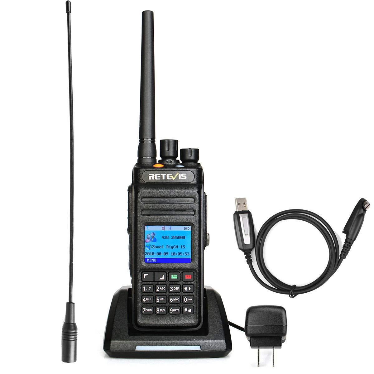 Amazon com: Retevis RT83 DMR Radio GPS Waterproof IP67 Digital
