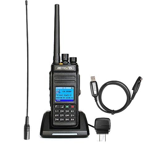 Retevis RT83 GPS DMR Radio Waterproof IP67 UHF 1024 CH Encryption