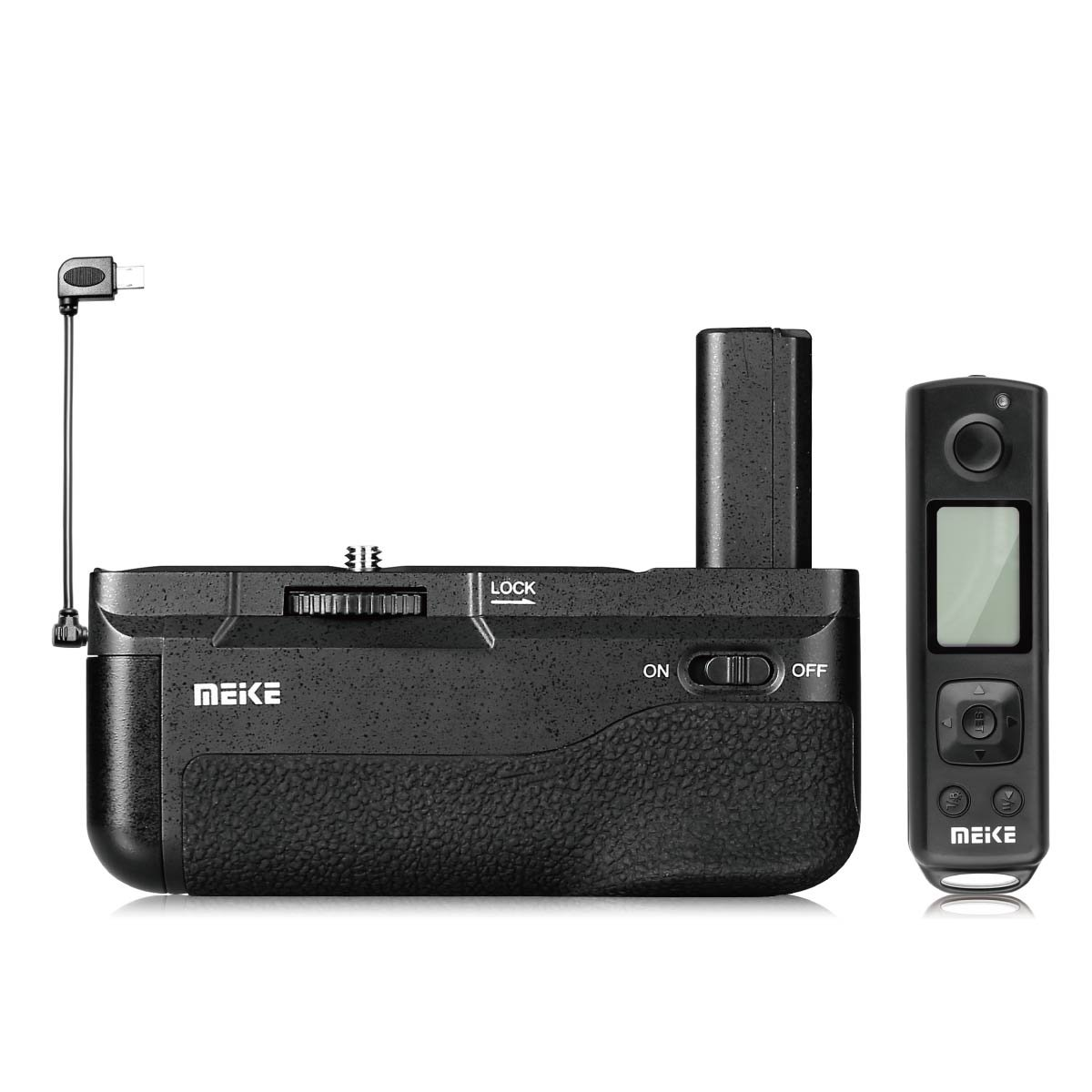 Meike MK-A6300 PRO Built-in 2.4GHZ Remote Controller Up to 100M to Control Shooting for Sony A6400 A6300 A6000 Camera