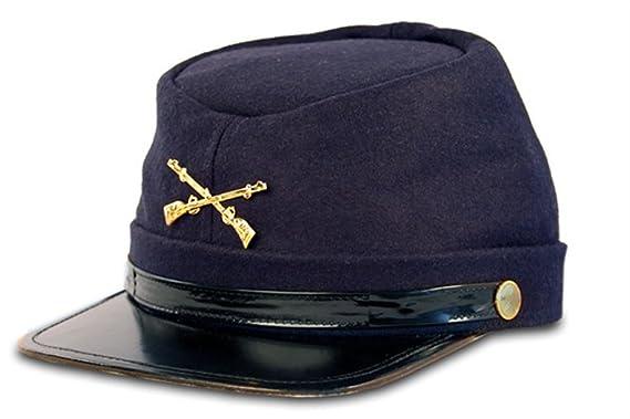 Guerra Civil Kepi Unión ejército gorro de lana azul con nosotros del Norte  (sombreros tamaño 65d9e90eccc