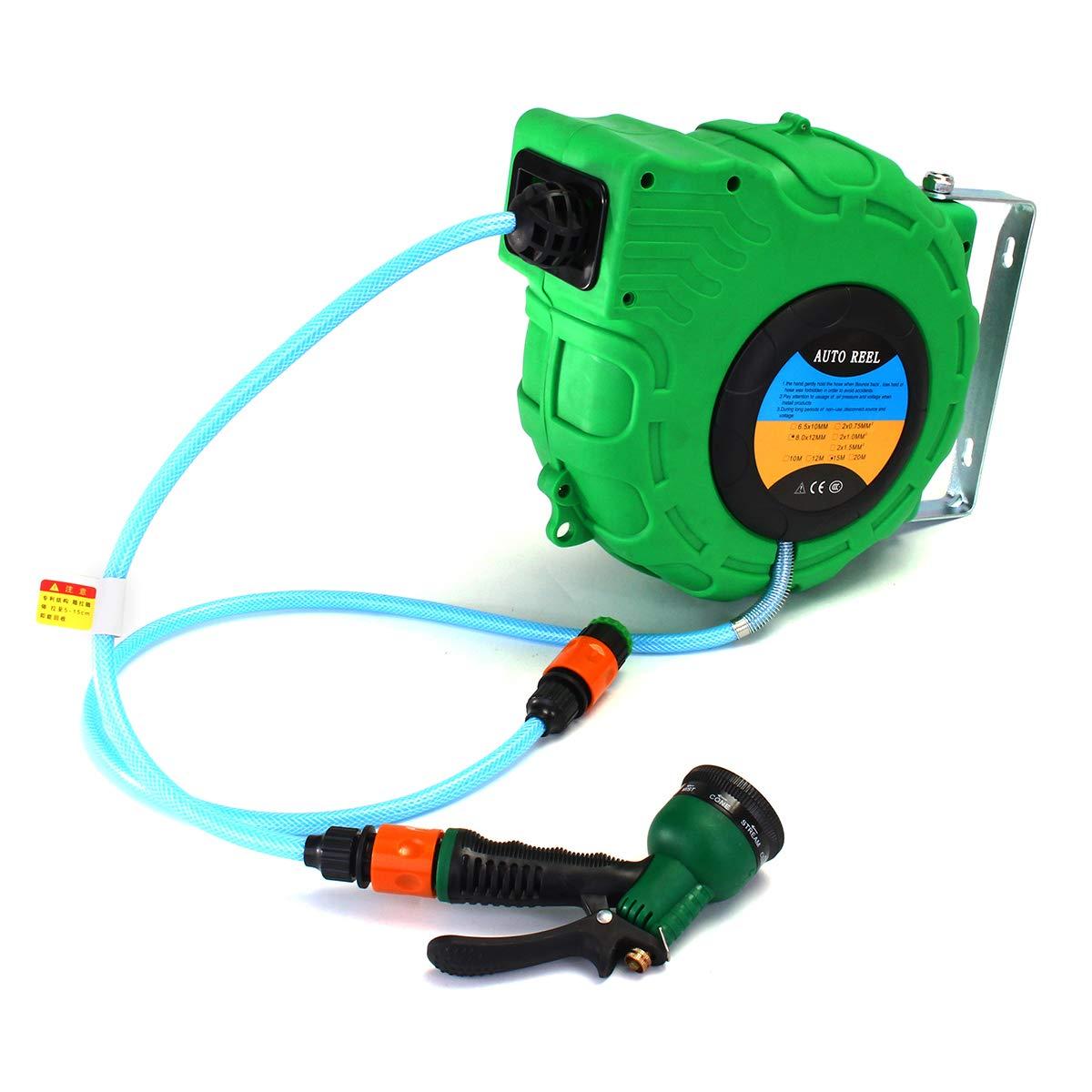 ChaRLes 10M Portable Mini Water Schlauchschlauch-Handheld-Duschschwirtschoß-Speicherhalteraum