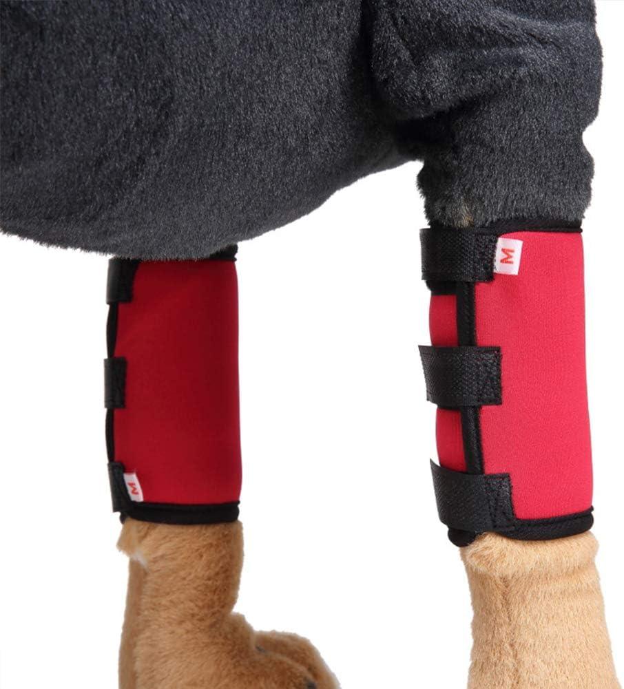 Aisoway Pet Knee Carpet Wrap Bandage Sock Dog Leg Pain Relief of the Operation//Arthritis