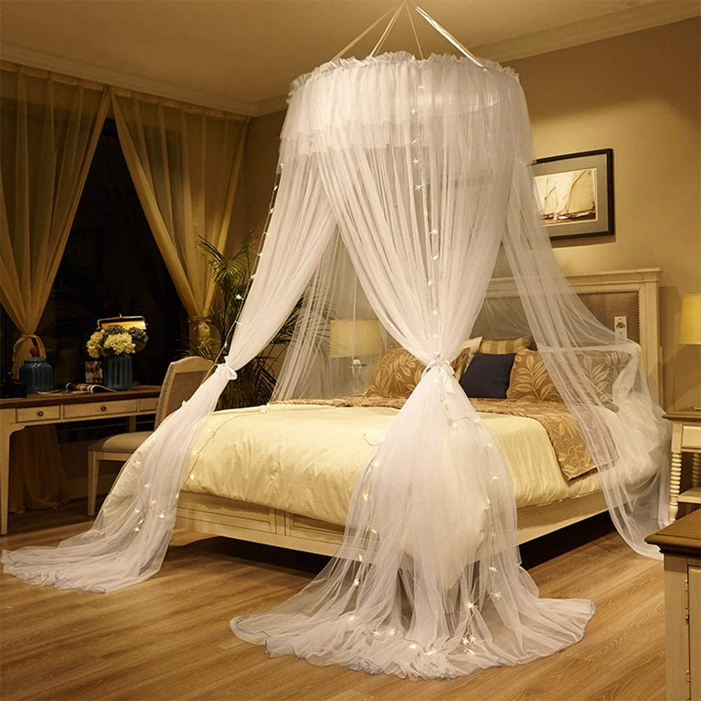 Double Super King Size Tent For Full Netting With 3 Openings ABYYLH Mosquito Net For Bed Naturals Net For Bed Canopy