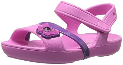 5db81f0f6 Crocs Kids  Girls Lina Sandal Flat