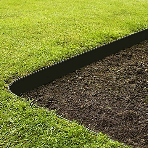 Black, grass barrier that prevents weed from entering your lawn.