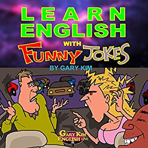 Learn English with Funny Jokes Audiobook
