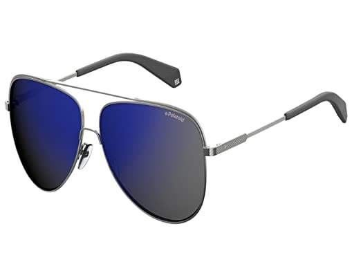 0095442742 Amazon.com  Polaroid Sunglasses PLD2054 S PLD2054 FS PLD 2054 2054 FS  polarized (big size 62mm - gunmetal   blue mirror polarized)  Clothing