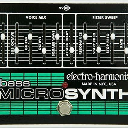 Amazon com: Electro-Harmonix Bass Micro Synthesizer: Musical