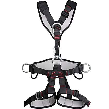 GG-climbing seat belt Arnés de Cuerpo Completo con cinturón de ...