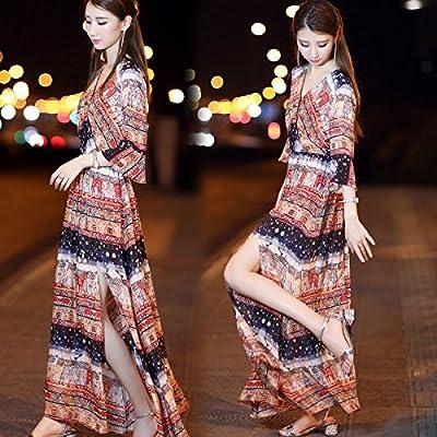 MiGMV Jupe Longue Robes de l'été, Porter, Femmes en Jupe de