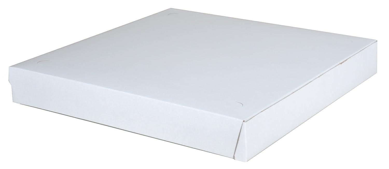 SCT 1465 Cajas para pizza de cartón, 14 x 14 x 1 7/8 h, color blanco (caja de 100): Amazon.es: Industria, empresas y ciencia