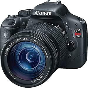 Canon EOS Rebel T2i 18 MP CMOS APS-C Sensor DIGIC 4 Image Processor Full-HD Movie Mode Digital SLR Camera and EF-S 18-135mm f/3.5-5.6 IS UD Standard Zoom Lens (Discontinued by Manufacturer)