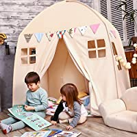 Love Tree Kids Play Tent Large Teepee Tent for Kids with...