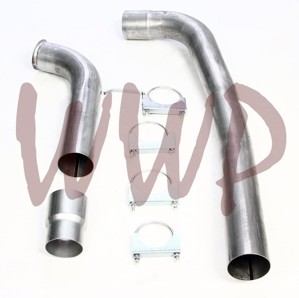 Performance 5 Stainless Steel Pipe Kit Turbo Back Exhaust System For 99-03 Ford F250 F350 Powerstroke 7.3L Diesel Pickup Truck