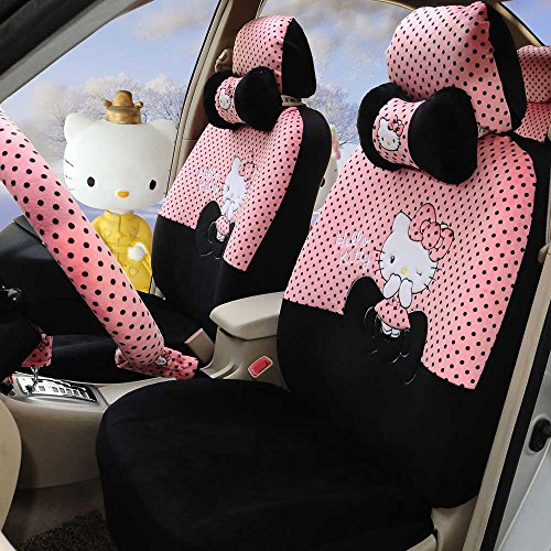 rmrp88 Hello Kitty Universal Car Seat Covers Full Set for sale  Delivered anywhere in Canada