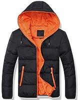 LKOMARKET-ダウンジャケット ダウンコート メンズ ビジネスコート 軽量 ライトダウン ビジネス フード付き 防寒 ステッチ カジュアル スリム リアル メンズファッション アウター ブルゾン ジャンパー 5色