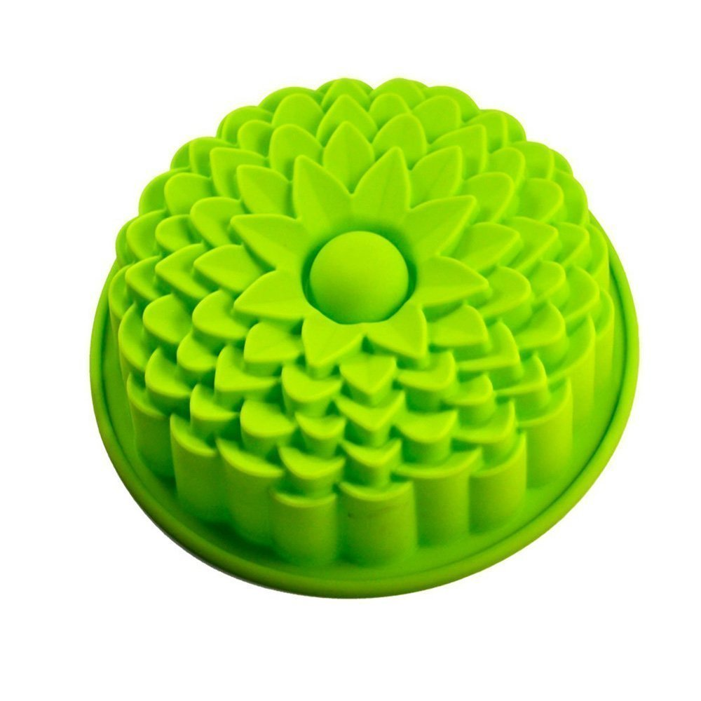 Romote 9' Tournesol Pain Tarte Flan Tart Party Birthday Cake moule en silicone Pan ustensiles de cuisson