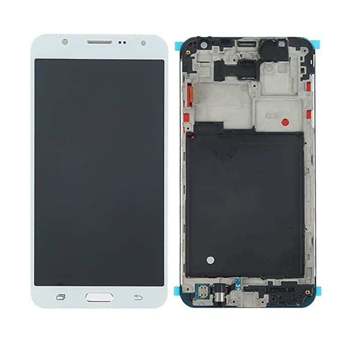 VANKER Pantalla LCD Pantalla táctil Asamblea digitalizador (For Samsung Galaxy J3 2017 J327 Series J327T1 J327P J327V J327P)_Galaxy J3 2017 j327 Gris: ...
