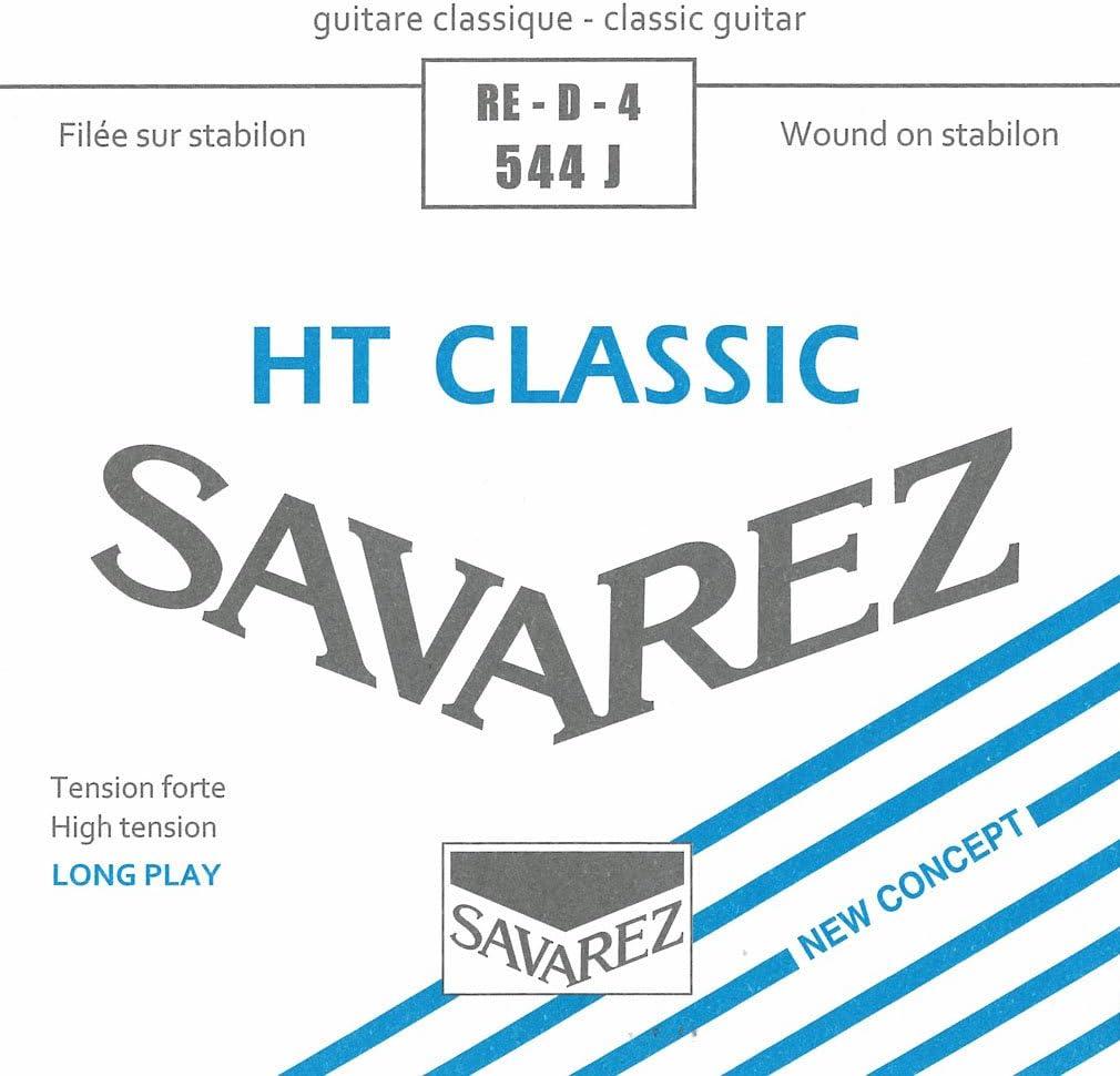 Savarez Cuerdas para Guitarra Clásica Alliance HT Classic 544J cuerda suelta Re4w Classic HT high, adecuado para juego 540J, 540ARJ, 540CJ, 540CRJ