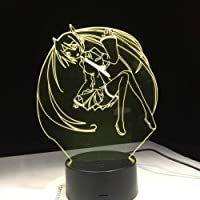 Tatapai 3D Night Lightled Lmapflash Teddy Bear Figure Phantom Colorful Action and 7 Color Touch Children Couple Family…