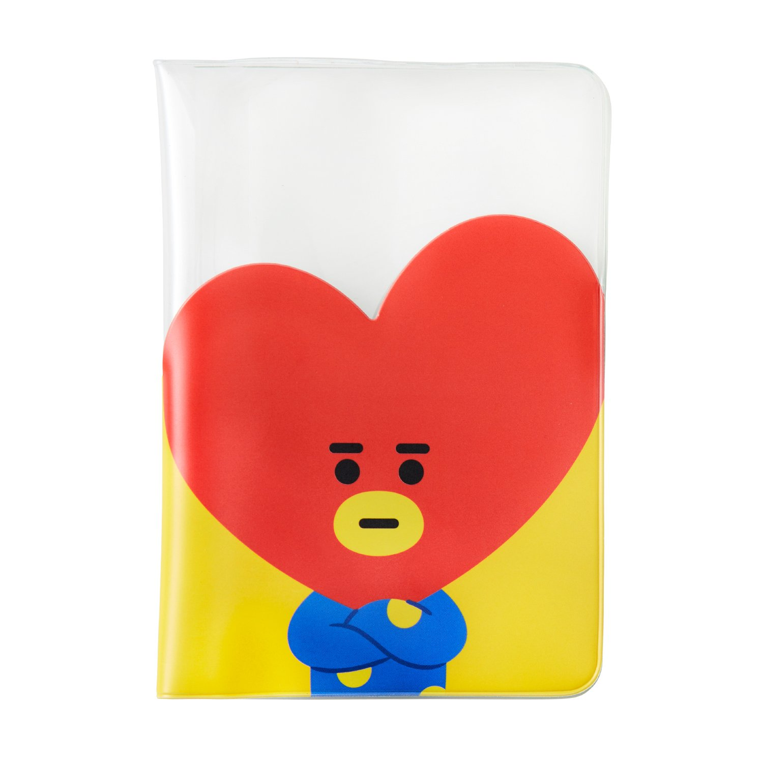 BT21 Official BTS Merchandise by Line Friends - Character Passport Holder Cover (Designed by Bangtan Boys)