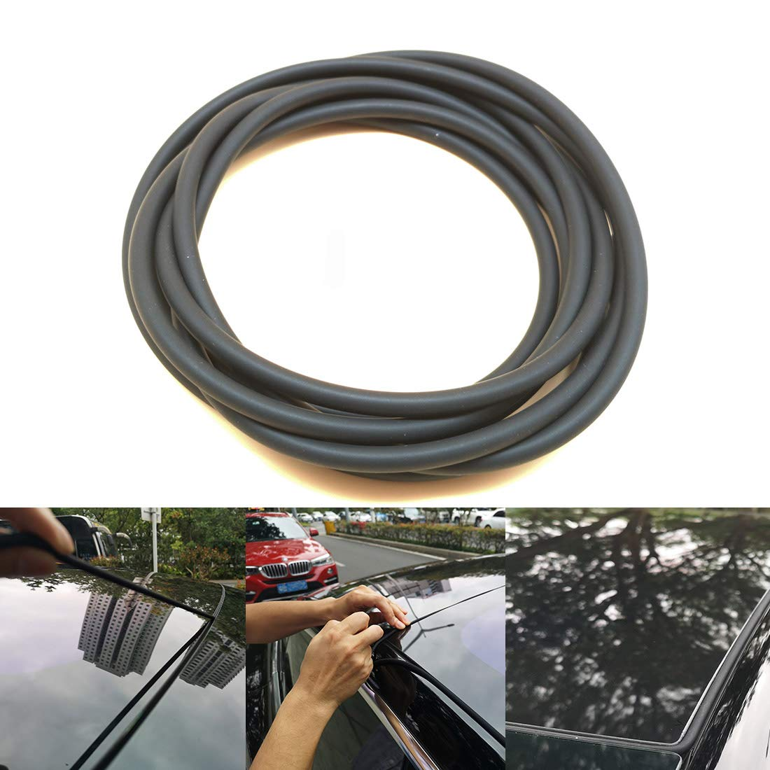 UTSAUTO Windshield /& Roof Wind Guard Noise Lowering Dampening Reduction Kit Fits for Tesla Model 3 100/% Silica Gel Quiet Seal Strip Kit Wind Noise Reduction Kit for Tesla Model 3