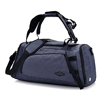 ElifeAcc Multifactional Fitness Handbag Travel Shoulder Bag Gym Sports  Carry Storage Luggage with Shoes Compartment for dea5537793