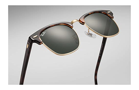 2e96491252 Image Unavailable. Image not available for. Color  Ray-Ban RB3016  Clubmaster Sunglasses (49 ...
